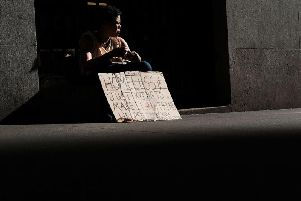 Stock homeless photo courtesy of Getty Images