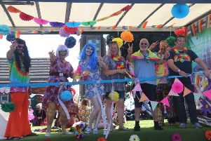 Hastings Pride 2017. Photo by Roberts Photographic. SUS-170828-124723001