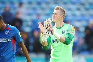 Pompey's Craig MacGillivray has received his maiden international call-up for Scotland. Picture: Joe Pepler