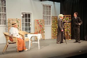 A scene from the Importance of Being Earnest