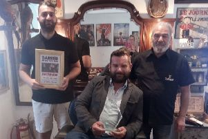 Fernholdt barbers from Storringtno are this 2019 winners