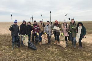 Join the volunteers keeping our beaches clean.