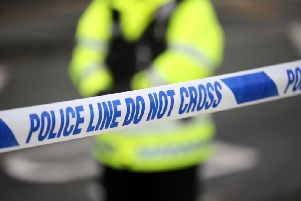 The attack occurred in Londonderry on Wednesday.