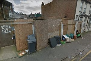 The fence on the corner of Dunstable Road and Ivy Road