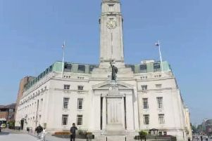 Luton Council, Town Hall