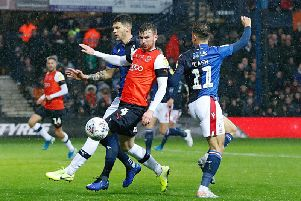 Ryan Tunnicliffe is put under pressure by Nottingham Forest on Saturday