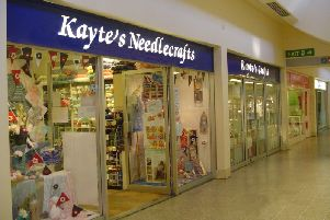 Kayte's Needlecrafts is closing down