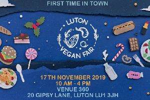 Luton Vegan Fair.