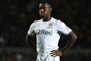 Leeds United's on-loan Arsenal striker Eddie Nketiah will miss the trip to Luton