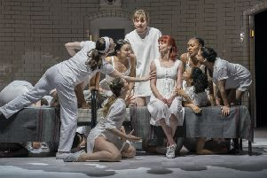 Matthew Bourne's Romeo and Juliet. Picture by Johan Persson