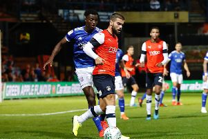 Elliot Lee hasn't featured in the league for Luton since September 14