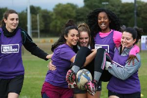 Women and girls are invited to a free rugby fitness session