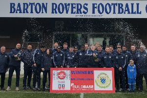 Barton Rovers FC have received 25,000 from the Buildbase 100k Transfer Deal