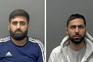 Waqas Malik (left) and Khalid Khan (right)