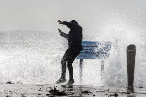 High winds are forecast along the Lincolnshire coast