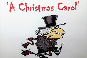 LINDSEY RURAL PLAYERS PRESENTS:'THE FARNDALE AVENUE HOUSING ESTATE TOWNSWOMEN'S GUILD DRAMATIC SOCIETY'S PRODUCTION OF A CHRISTMAS CAROL EMN-181121-171323001