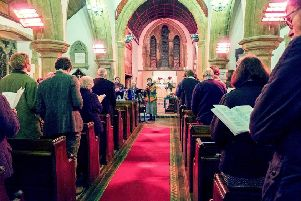 Da Capo is back to lead the singing at Thoresway Church