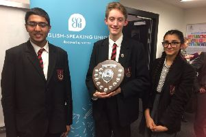 The Caistor team of Vignesh Kamath, Toby Barnett and Kamya Ghandhi   will represent Lincolnshire