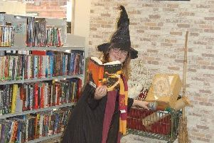 Harry Potter fun at Market Rasen Library EMN-190129-093316001