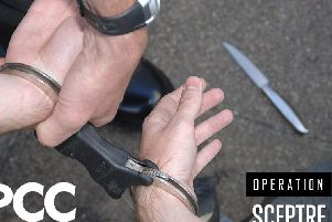 Lincolnshire Police are targeting knife crime in a national week of action.