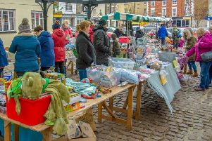 A successful bric-a-brac market'Photo by Dolphin Images EMN-190317-114621001