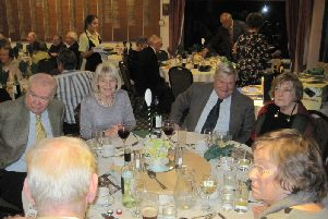 Market Rasen Rotary Linolnshire Dinner at Market Rasen Golf Club EMN-190204-082624001