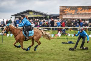 Horseboarding at Thame Country Fair