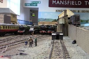 Minute detail has gone into recreating the line from King's Cross to Leeds