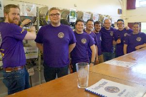 Round tablers ready to serve at last year's successful festival