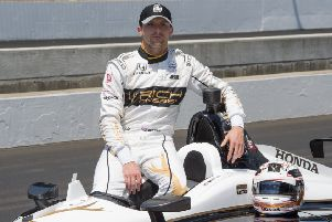 Jordan King is set to make his Indy 500 debut on Sunday. Picture: RLLR