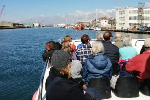 Visitors enjoyed spending time out on the water to see another side of Shoreham Port