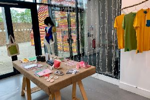 Pop-Up shop in the Arrival exhibition