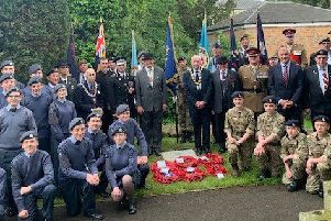 More than 100 people attended the service at St Peter's Church in Great Limber