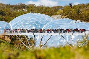 Opportunity to visit the Eden Project.