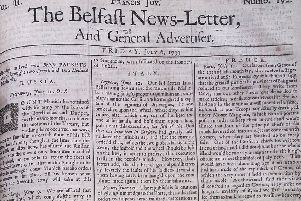 The Belfast News Letter of July 6 1739 (which is July 17 in the modern calendar)