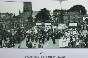Peace Day in Market Rasen, 1919 EMN-191107-134421001