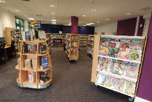 Pictures of new and old libraries, Berkhamsted