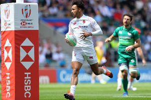 Ryan Olowofela has swapped the England sevens side for Saints