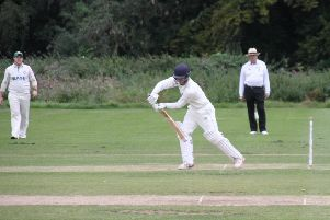 Luke Francis made 22 in Caistor's innings. Picture courtesy of Peter Thompson EMN-190209-173721001