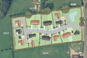 The proposed layout for the 19-home development. EMN-190409-111217001