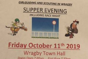Race night at Wragby