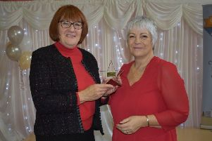 Janet Wright from Tealby picked up the garden guru award EMN-191028-065457001
