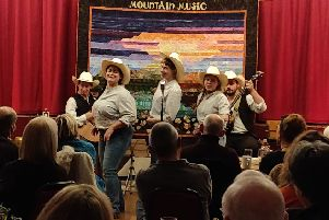 Mountain Music at Market Rasen's Festival Hall'Photo by Cathy Turner EMN-191119-092608001