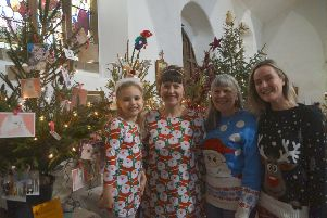 Festive family fun at last year's Caistor Tree Festival