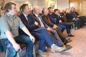 The Ulster Unionist Party launching its manifesto for the General Election at the Stormont Hotel in Belfast on Wednesday morning