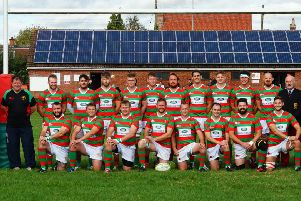 Market Rasen and Louth RFC lie fourth at the halfway stage of the season. Jon Staves EMN-191222-171110002
