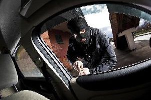 Thieves are targeting cars (file pic)