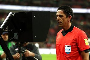Checking for VAR! Photo: GettyImages