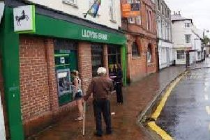 Library image of Lloyds Bank in Market Rasen