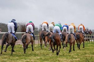 Racing went on regardless at Brocklesby Park on Saturday. Picture: Tom Milburn Photography